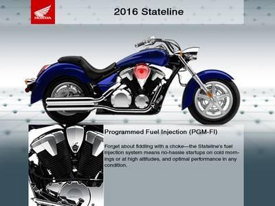 2016 Honda® Stateline ABS   RideNow on Boulder   Las Vegas, NV